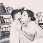 Maera Mishra with mother