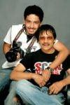 Rohan Shrestha with father Rakesh Shrestha