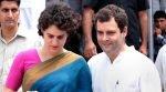 Priyanka Gandhi and Rahul Gandhi
