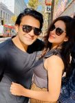 Shael Oswal with Wife Sameksha