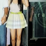 Sridevi Daughter Jhanvi Kapoor Showing Sexy Legs