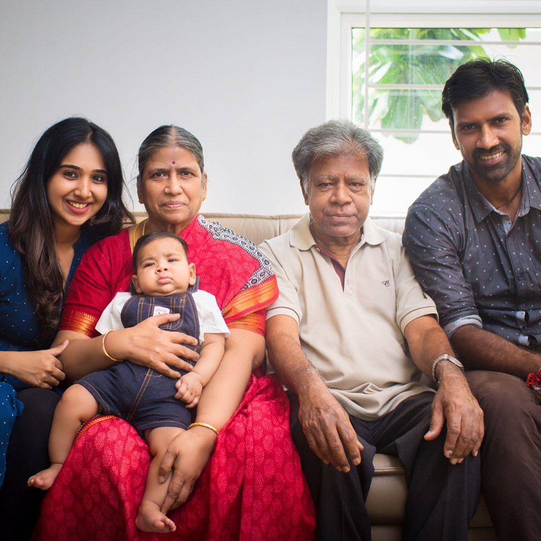 Lakshmipathy Balaji Family Picture