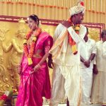 Priya Thalur Balaji and LakshmiPathi Balaji Marriage Picture