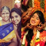 Priya Thalur Balaji with her mother