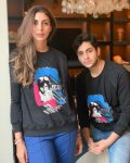 Agastya Nanda with her-mother Shweta Bachchan Nanda