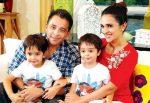 Tara Sharma Saluja Family Picture