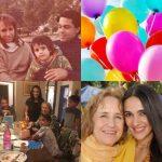 Tara Sharma Saluja with her parents