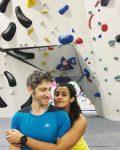 divyanka bedi with her boyfriend daniel machli