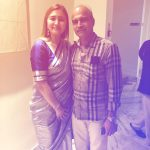 Jwala Gutta with her father Kranti Gutta