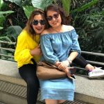 Jwala Gutta with her mother Yelan Gutta
