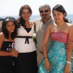 Radhika Merchant family picture