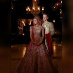 Aashka Goradia and Brent Goble marriage picture