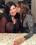 Aashka Goradia with mother in law Renee Goble