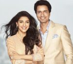 Asin Thottumkal with husband Rahul Sharma