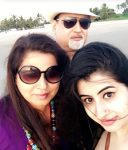 Cristy Chopra with Parents