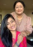 Dhanashree Verma and Her Mother