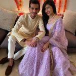 Dhanashree Verma and Yujvendra-Chahal Engagement Picture