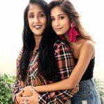 Maera Mishra with mother Kalpana Mishra