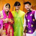 Manish Raisinghan and Sangeita Chauhaan with Ankur Chauhan