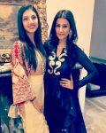 Miheeka Bajaj with Sasha Rawal Bajaj