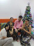 Mugdha Godse family picture