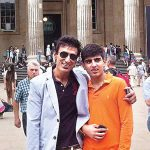 Rahul Dev with son Siddharth Dev