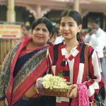 Sarika Bahroliya with her mother
