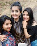 Sarika Bahroliya with her sisters