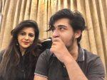 Shazia Ilmi with her nephew Afzal Ilmi