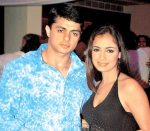 Bunty Sajdeh and Dia Mirza