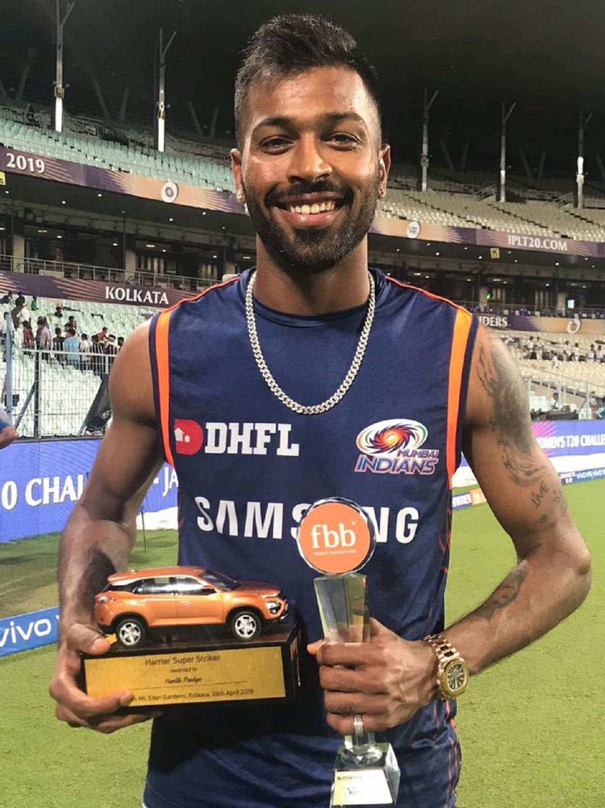 Hardik Pandya Biography