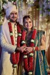 Marriage Picture of Dia Mirza and Sahil Sangha