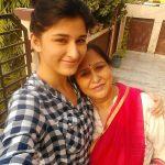 Sheen Dass with her mother savita