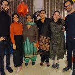 Tanya Maniktala family picture