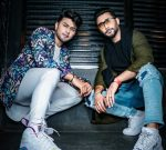 Zaid Darbar with brother Awez Darbar