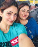 Surilie Gautam With mother Anjali Gautam
