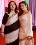 Shonali Nagrani with mother