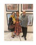 Ridhi Dogra With Her Parents Ashok Dogra and Renu Dogra