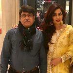 Shreya Ghoshal with father Bishwajit Ghoshal