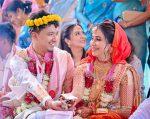 Barsha Rani Bishaya and Bhaskar Baruah Wedding Picture