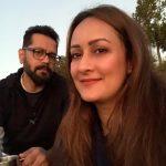 Deepa Jhangiani with husband Naren Mehta