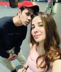 Muskaan Nancy James with brother Laurent James
