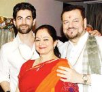 Neil Nitin Mukesh with his Parents