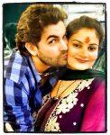 Neil Nitin Mukesh with sister Neha