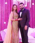 Purva Rana with husband Shrenik Parikh