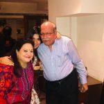 Archana Vijaya with Parents