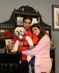 Archana Vijaya with husband Dheeraj Puri