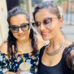 Rubina Dilaik with sister Rohini