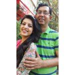 Amrita Prakash with father Prakash Bakshi