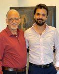 Gautam Kitchlu with father Nitin Kitchlu